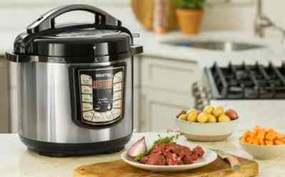 Best Buy : 8-Quart Pressure Cooker - Stainless steel Just $49.99 (Reg : $99.99)