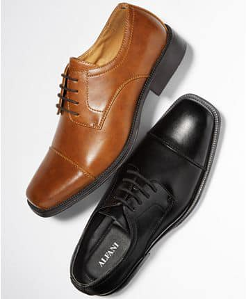 Men's Adam Cap Toe Oxford, Created for Macy's for $29.99 (reg: $59.99)