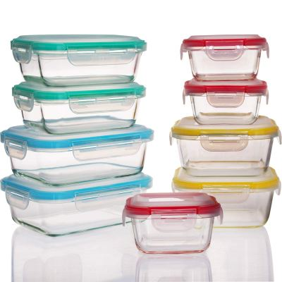 Amazon : 18 Pieces Glass Food Storage Containers Set Just $19.99 W/Code (Reg : $39.99) (As of 9/18/2019 1.17 PM CDT)