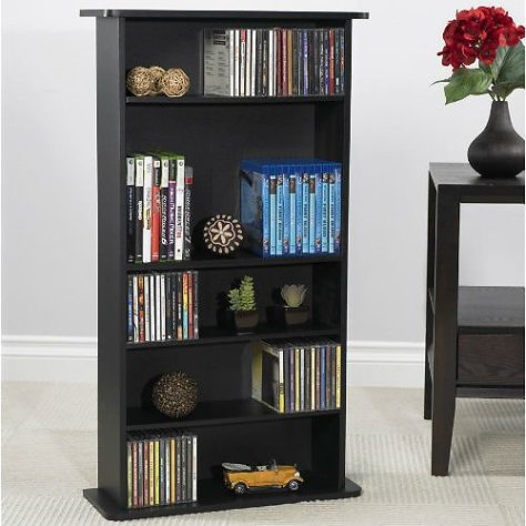Atlantic Drawbridge Wood Media Storage Shelf for just $20 at Walmart