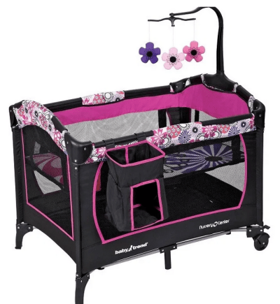 Baby Trend Nursery Center Playard, Floral Garden for $49.00 (Reg $69.99)