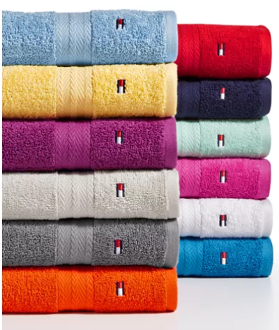 Macy's : Tommy Hilfiger towels for $4.99 Each - Free store pick up!