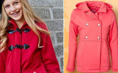 Zulily : Girls Hooded Fleece Jacket Just $10.99 (Reg : $40)
