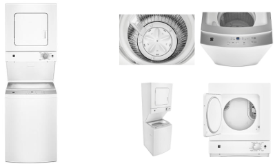 Sears : Kenmore Electric Laundry Center Just $599.94 (Reg : $1449.99)