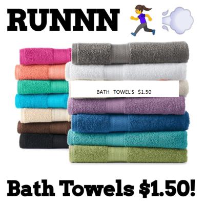 Kohl's : Bath Towel's $1.50!!