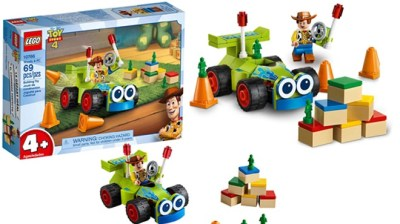 LEGO Disney Pixar's Toy Story 4 Woody & RC Building Kit for ONLY $7.99 at Amazon