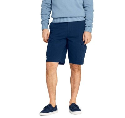 Lands End Men's 11 in. Cargo Shorts for $15.00 (Reg $59.95)