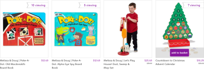 Zulily : Melissa & Doug Toys On Sale + FREE Shipping!!