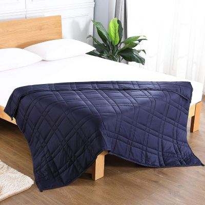 Amazon : Weighted Blanket (60''x 80'', 15 lbs Just $26.34 - $34.94 W/Code (Reg : $52.69 - $69.89) (As of 9/21/2019 9.30 PM CDT)