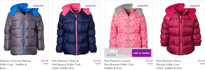 Zulily : Puffer Coats Just $14.99 (Reg : $45)