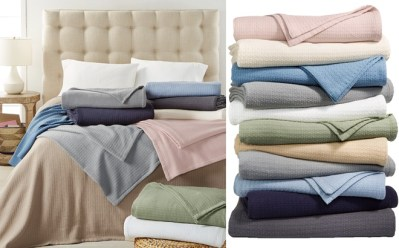 Ralph Lauren Cotton Blanket ONLY $19.99 at Macy's (Regularly $90) – Today Only!