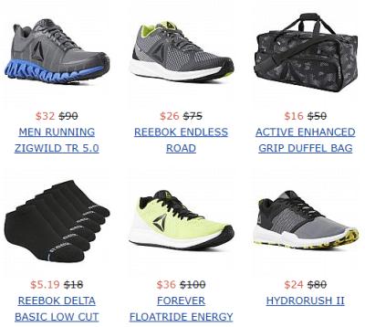 Reebok - Extra 60% Off Sale Styles!