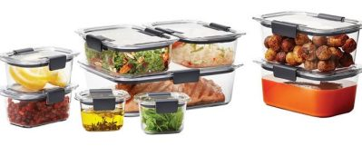Rubbermaid Brilliance 18-Piece Food Storage Set ONLY $19.98 + FREE Pickup (Reg $30)
