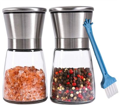 Amazon : Salt and Pepper Grinder Set of 2 Just $6.99 W/Code (Reg : $13.99) (As of 9/21/2019 9.02 PM CDT)