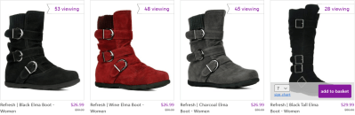 Zulily : Sweater Boots Just $26.99 - $29.99 (Reg $50.99+)