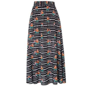 Amazon : Women Casual Floral Full Length Elastic Waist A-Line Long Maxi Skirt Just $6.30 W/Code (Reg : $20.99) (As of 9/18/2019 5.40 PM CDT)