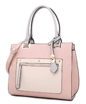 Amazon : Women's Handbags and Purses Stitching color Top Handle Just $19.99 W/50% Off Coupon (Reg : $39.99) (As of 9/18/2019 1 PM CDT)