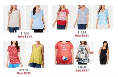 Macy's : Women's Top Sale & Clearance!!
