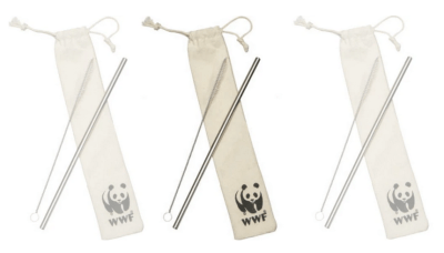 Head over to request your FREE Reusable Straw Kit from World Wildlife Fund! Just fill out the form to get yours. A donation is not required, so you can just ignore that screen. Note that this will subscribe you to their newsletter, but you can unsubscribe at any time. If you're having issues, use the Google Chrome browser.