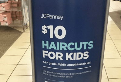 Kids Haircuts ONLY $10 at JCPenney Through September 15th – Print Coupon Now!
