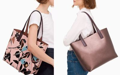 Kate Spade Arch Reversible Tote Just $79 (Reg : $329) – Today Only!