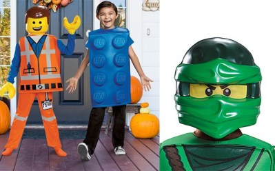 Kids' LEGO Halloween Costumes Starting at $7.99 at Zulily – Many Different Styles!