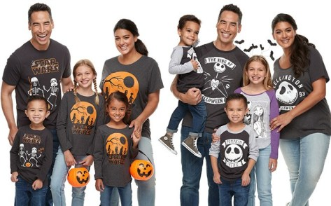 Matching Halloween Family Tees From $5.39 + FREE Shipping (Regularly $16) – Today Only!