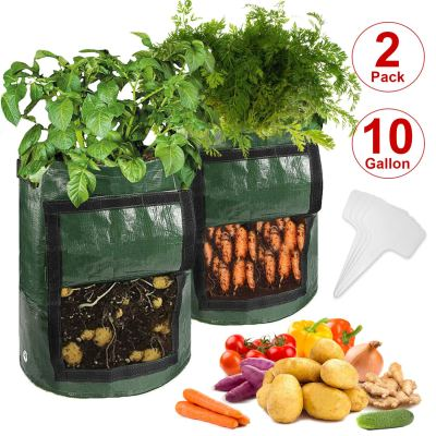 Amazon : 2-Pack 10 Gallon Potato Grow Bags Just $4.99 W/Code (Reg : $9.99) (As of 10/20/2019 8.48 PM CDT)