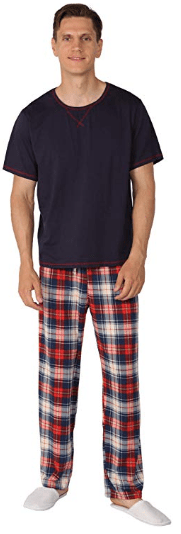 Amazon : Men's Pajamas Set Just $$9.99 - $12.99 W/50% Off COUPON (Reg : $19.99) (As of 10/17/2019 7.20 PM CDT)