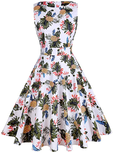 Amazon : Vintage Tea Dress Just $17.99 W/Lightening Deal (Reg : $24.99) (As of 10/17/2019 7.30 PM CDT)