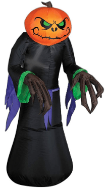 Amazon : Airblown Inflatable Gemmy Lights Pumpkin Reaper 3.5'Just $30.39 (Reg : $36.99) (As of 10/07/2019 7.28 PM CDT)