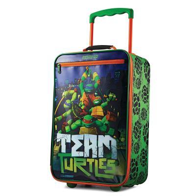 "Amazon : American Tourister Kids Softside 18"" Upright, Nickelodeon Ninja Turtles Just $22.36 W/Code (Reg : $39.99) (As of 10/12/2019 2.30 PM CDT)"