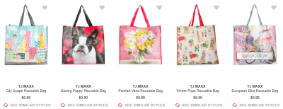 FREE SHIPPING - TODAY ONLY!! $0.99 REUSABLE BAGS