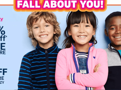 Up to 90% Off OshKosh B'gosh Kids Apparel (Tees From JUST $1.79) – Ends Today!