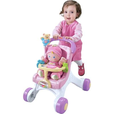 Amazon : Fisher-Price Brilliant Basics Stroll-Along Walker Just $29.74 (Reg : $57.79) (As of 10/20/2019 8.31 PM CDT)