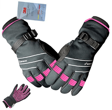 Amazon : Full Finger Winter Ski Thermal Reflective Stripe Cycling Gloves Just $14.40 W/Code + 10% Off Coupon (Reg : $28.80) (As of 10/12/2019 5.45 PM CDT)
