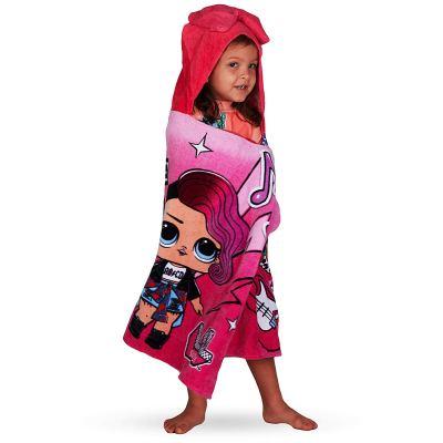 "Amazon : L.O.L. Surprise! Soft Cotton Hooded Bath Towel Wrap 24"" x 50"" Pink Just $10.98 W/Code (Reg : $17.99) (As of 10/23/2019 9.10 AM CDT)"