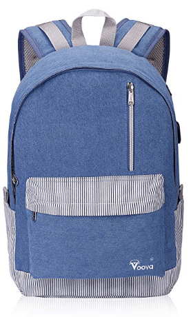 Amazon : Laptop School Backpack Just $8.99 W/Code + 5% Off Coupon (Reg : $29.99) (As of 10/17/2019 7.39 AM CDT)
