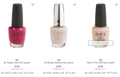 TJMaxx : OPI nail polishes From $3.99 Each Ship FREE Today Only!