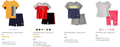 Amazon : Puma - Clothing (As of 10/28/2019 8.20 PM CDT)