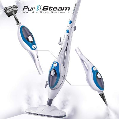 Steam Mop Cleaner ThermaPro 10-in-1 with Convenient Detachable Handheld Unit for $49.29 (reg: $69.97) (Almost sold out. Runnn)