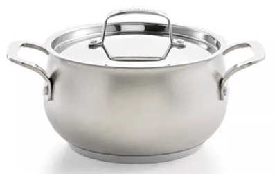 Macy's : Stainless Steel Sand-Blasted 3-Qt. Soup Pot Just $22.43 (Reg : $44.99)