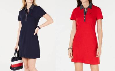 Tommy Hilfiger Polo-Shirt Dress ONLY $19.99 + FREE Pickup at Macy's (Regularly $60)