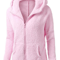 Amazon : Women Fleece Hooded Jacket Just $9.60 W/Code (Reg : $31.99) (As of 10/18/2019 10.20 AM CDT)