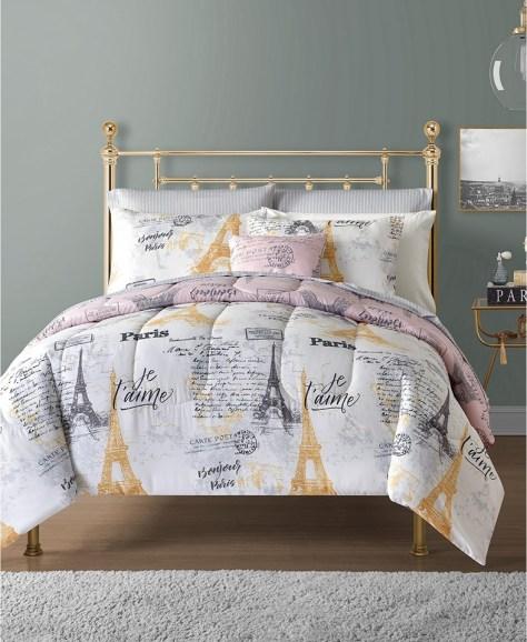 Sunham Paris 12-Pc. Reversible Comforter Sets for $49.99 (Reg $120)