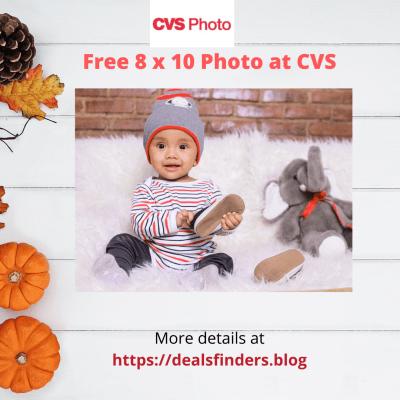 CVS : Free 8×10 Photo Print with code