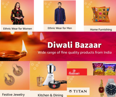 India Diwali Bazaar - Live Now