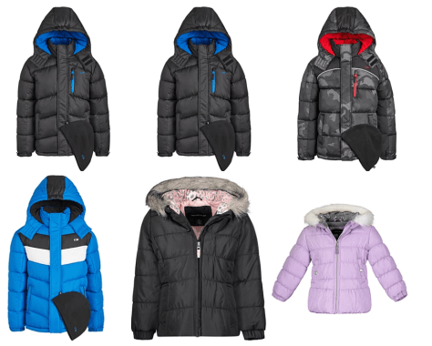 Kids' Puffer Jacket & Hat Sets ONLY $21.99 + FREE Pickup at Macy's (Regularly $85)