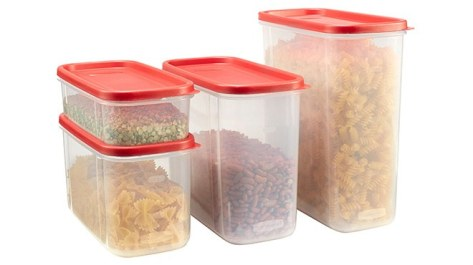 Rubbermaid 8-Piece Modular Food Canister Set JUST $13.50 at Walmart (Regularly $29)
