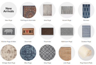 Rugs and doormats 30% Off at Target.com – Starting from $4.89 (Regularly $7)
